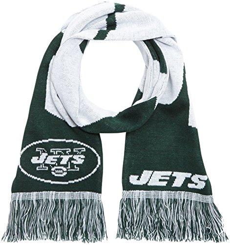 Forever Collectibles Schal NFL New York Jets Fanschal, Mehrfarbig, SVNF14WMNJAM