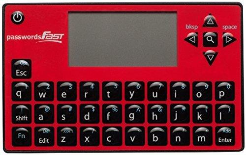 PasswordsFAST elektronisches Passwortspeichergerät, Stand-alone-Gerät, englischsprachige - Elektronische Passwort-organizer
