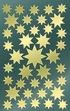 Avery Zweckform 52804 Weihnachtssticker Sterne 78 Aufkleber