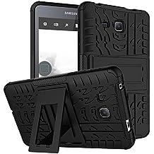 "Carcasa Samsung Tab A6 7.0"" Transparent Gel, KATUMO® Funda Rigida Cubierta Transparent Silicona para Tablet Samsung Galaxy Tab A6 7.0""(SM-T280/285) Bumper Funda Case Cover Carcasa Protectora-Negro"