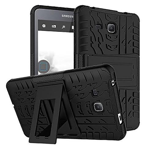 "Etui Galaxy Tab A 7.0 pouces, KATUMO® Coque Gel Tablette Samsung Galaxy Tab A 7.0"" 2016(SM-T280/SM-285N) Etui Housse Coque en Silicone Case Cover-Noir"