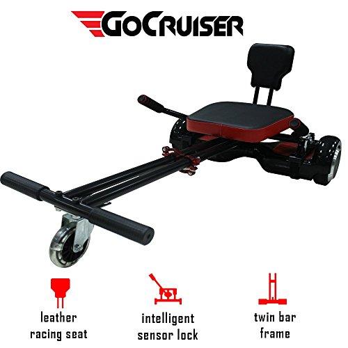 Gohoverkart Cruiser ufficiale–colore nero carbonio