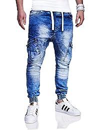 MT Styles Cargo Jogging-Jeans pantalon homme RJ-3187