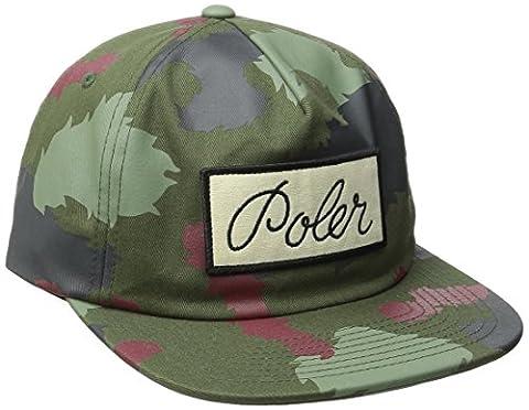 Poler stuff a script nike unstructured snapback casquette polmcap_scr camouflage taille unique