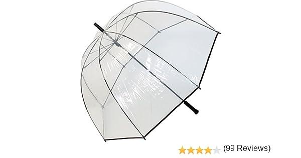 Transparentschirme Parapluie Cloche de Luxe XXL103/cm/ /Transparent Grande Taille