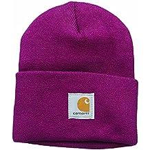 Carhartt Mujer Gorra Acrílico - Raspberry Sombrero Invierno Esquiar Mujeres  CHWA018654 f1d31b42913