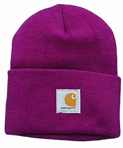 Carhartt - Für sie Acrylic Watch Hat - Himbeere Strickmütze Hüte Mütze Damen CHWA018654-One Size