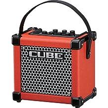 Roland Micro Cube GX 3W 1x5 con pilas guitarra Combo Amp Rojo rojo