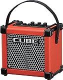 Roland Micro Cube GX 3W 1x 5batteriebetrieben Gitarre Combo Amp rot