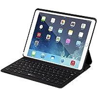Clavier iPad Pro 10.5 avec Coque Sans Fil (AZERTY), EC Technology Clavier Bluetooth Ultraplat Léger avec Commutateur Magnétiquement Intelligent et Support Multi-angle Compatible avec Tablette Apple iPad Pro 10.5 Pouces 2017