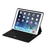 EC TECHNOLOGY Clavier Bluetooth iPad Pro 10.5 avec Coque, AZERTY Français, Étui Clavier iPad Pro 10.5 sans Fil Smart Réveil/Sommeil Automatique Compatible avec iPad Air 2019 tastatur