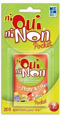 Megableu - 678052 - Jeux de voyage et de poche - Pocket Ni Oui Ni Non thématique Star