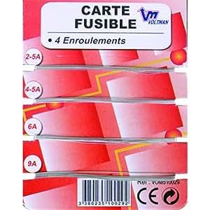 Voltman VOM510029 Carte fusible 4 enroulements
