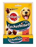Pedigree Leckerbissen Kau-Happen Hundesnacks Rind, 6er Pack (6 x 130 g)
