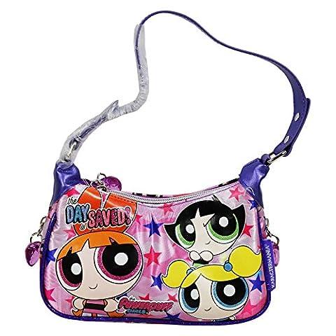 Powerpuff Girls Stars Bag Shoulderbag Baguette Pochette Fancy Children