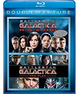 Battlestar Galactica: Razor / Battlestar: Plan [Blu-ray] [US Import] (B00C7MW5SE) | Amazon price tracker / tracking, Amazon price history charts, Amazon price watches, Amazon price drop alerts