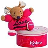 Kaloo 960005 - Sweet Life, kleine Maus Love, 18 cm, mehrfarbig