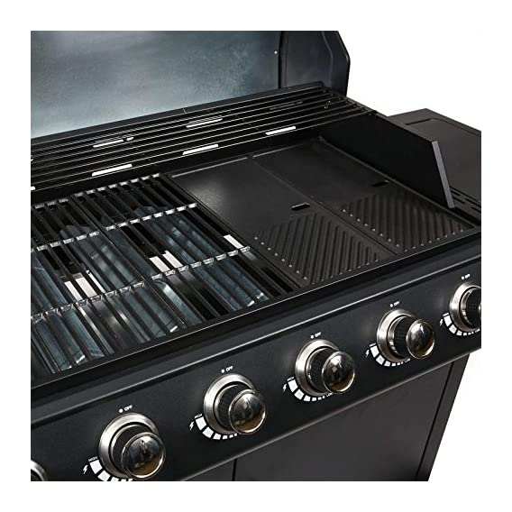 Mayer Barbecue Zunda Gasgrill Mgg 561 Basic Mit Seitenbrenner