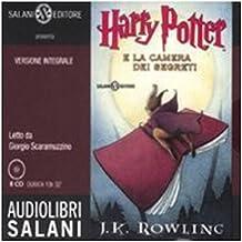 Harry Potter e la camera dei segreti letto da Giorgio Scaramuzzino. Audiolibro. 8 CD Audio
