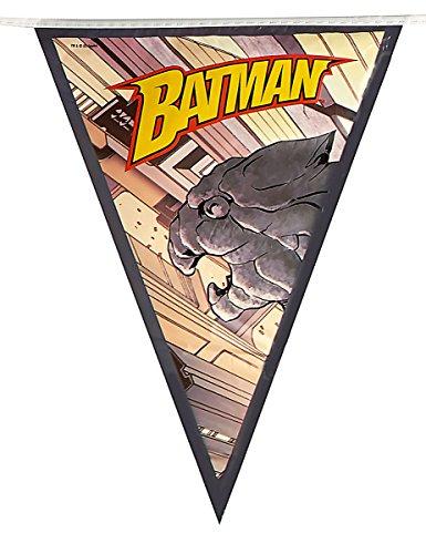 DYNASTRIB - Guirnalda de Batman 9001240, multicolor, 270 cm