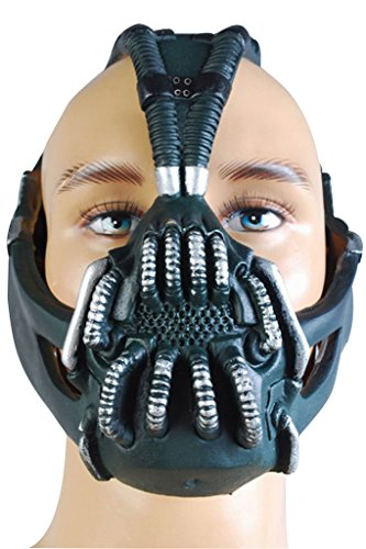 Gogam Bane Maske Replica for Batman the Dark Knight Rises Cosplay Kostüm Prop Stütze (Dark Knight Rises Kostüm)