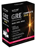 #9: GRE Complete 2018: The Ultimate in Comprehensive Self-Study for GRE (Kaplan Test Prep)