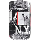 Omenex Akashi Housse pour Téléphone Portable Taille XL Motif NYC