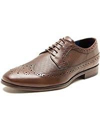 Red Tape Nappa Brown Mens Formal Shoe