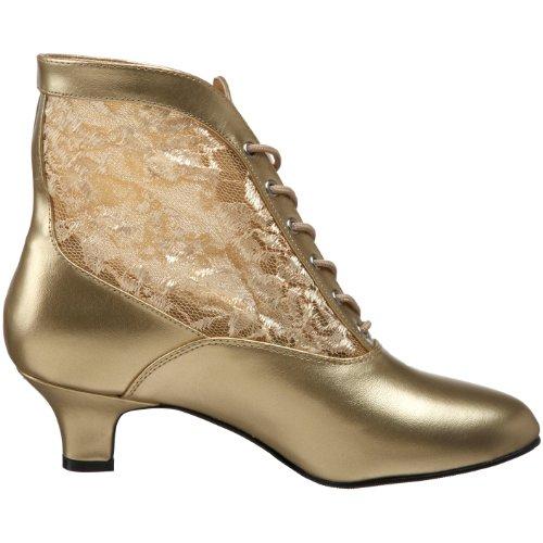 Pleaser - Dame05/B/Pu, stivaletti  da donna Oro(Gold)