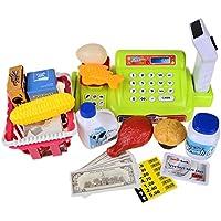 Preisvergleich für Scheckstand Set Kinder Kunststoff Pretend Tragbare Spiel Bundle Mit Zubehör Sitz Pädagogisches Spielzeug Rolle Spielen CFZHANG