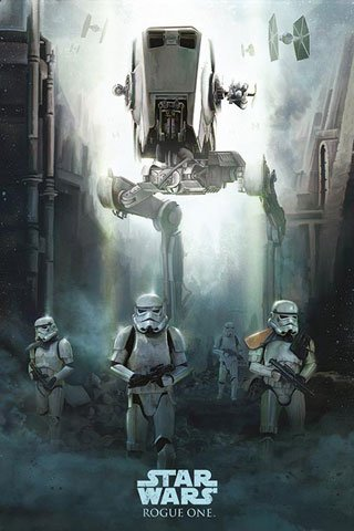 Star Wars - Poster - Rogue One – Stormtrooper Patrol + Ü-Poster