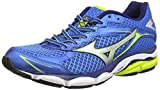 Mizuno Wave Ultima 7, Scarpe Sportive, Uomo, Blu (Electric Blue/Lemonade), 41