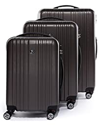 09e906ebd1b8 FERGÉ Luggage Many Colors and Sizes Suitcase Toulouse Trolley Hard-top case  4 Spinner Wheels