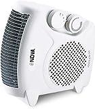 #5: Nova NH-1257 All-in-One Blower Silent Fan Room Heater (White)