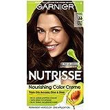 Garnier Hair Color Nutrisse Nourishing Color Creme, 33 Darkest Golden Brown (Packaging May Vary)