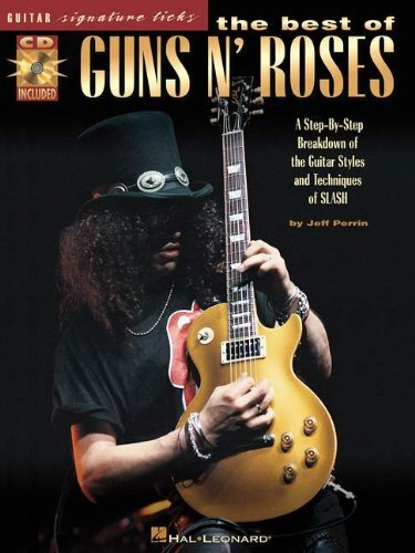 Guns N' Roses - Signature Licks: Guitar Tab (Guitar Signature Licks) by Jeff Perrin (30-Apr-2001) Paperback - And Guns Tab Roses