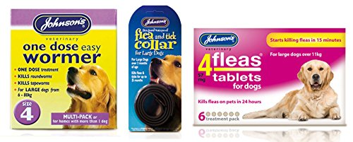 Pet Connection Flea, Tick & Worming Kit (Size 1: Small Dog (0-6kg)) 4