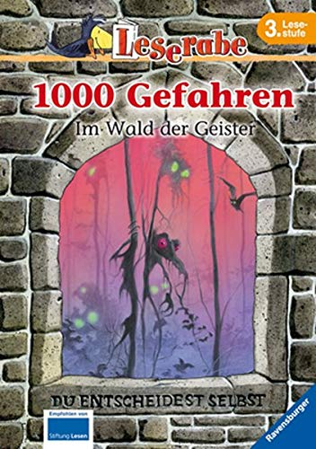 1000 Gefahren - Im Wald der Geister (Leserabe - 1000 Gefahren) (Buch Des Lebens-halloween-party)