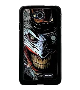 Scary Character 2D Hard Polycarbonate Designer Back Case Cover for LG L70