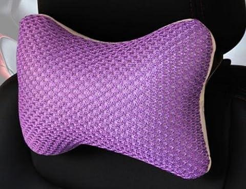 HOMEE Breathable Mesh Ice Silk Kopfstütze Danni Breathable Leder Hals Knochen Kissen für ein Single Car Haushalt Kopf,2,275x170cm