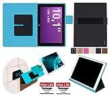 reboon Terra PAD 1003 v2 Tablet Hülle Tasche Cover Case Bumper | in Schwarz | Testsieger