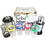 Home Connection 21PC Electric Multi Blender Food Processor Turbo Juicer Smoothie Mixer