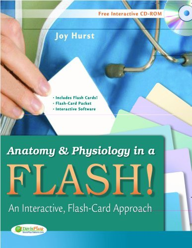 Anatomy & Physiology in a Flash!: An Interactive, Flash-Card Approach by Joy A Hurst (2010-10-01)