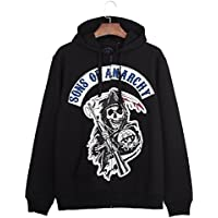 Men 's sweater suéter suéter de los hombres de la marca de marea con suéter de Cachemira suéter impreso impresión japonesa,Black,XXL
