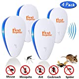 Ultrasonic Pest Repeller Electronic Repellent Reject Plug in for Insect by, Mouse, Rats