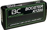 BC Booster K1200, Avviatore Portatile per Auto e Moto con Power Bank USB,  12V/400A,  12000 Mah per...