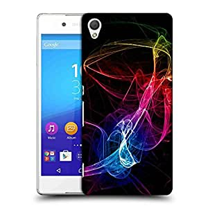 Snoogg Neon Smoke Designer Protective Phone Back Case Cover For Sony Xperia Z4 Compact