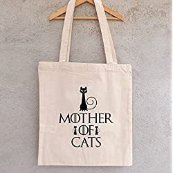 Mother of cats bolsa, GOT, game of thrones, daenerys
