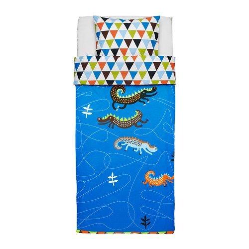 ikea-drakdjur-dragon-parure-de-lit-pour-enfant-140-x-200-cm-100-coton-bleu-140-x-200