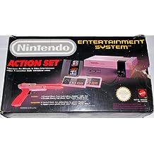 Nintendo NES Entertainement Sistem Consolle Action Set Pal Mattel 1988 + Zapper